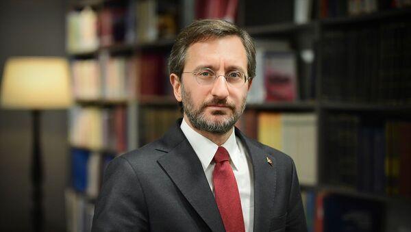 Cumhurbaşkanlığı İletişim Başkanı Fahrettin Altun - Sputnik Türkiye
