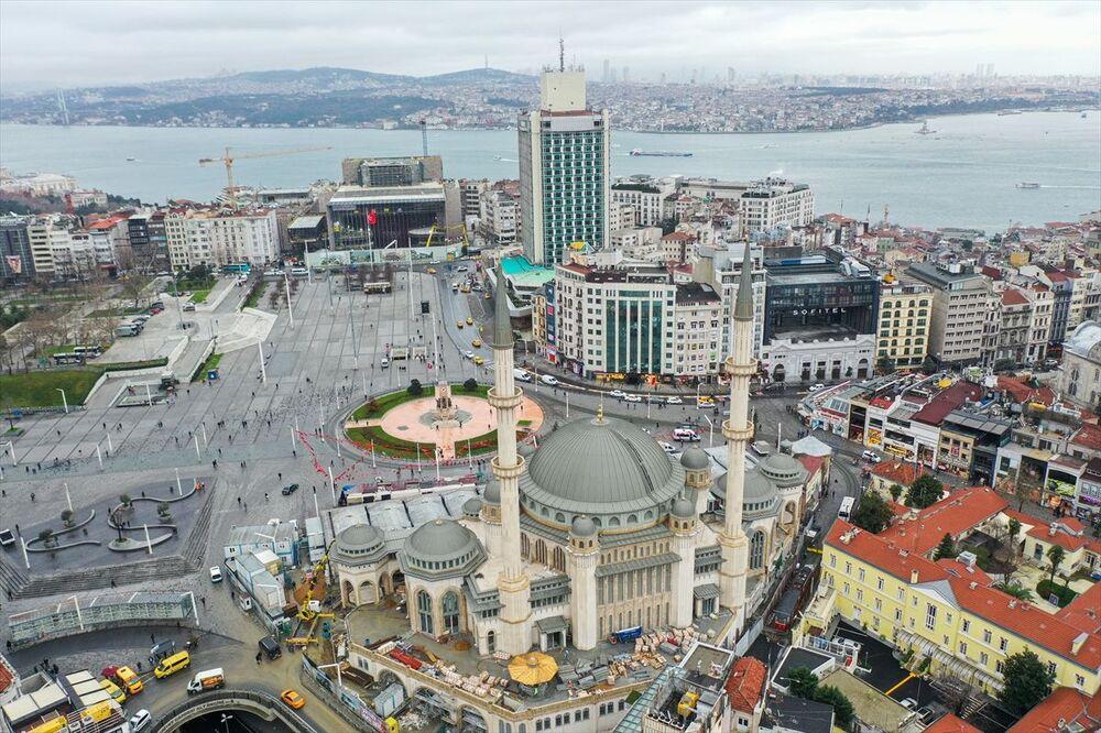 Temeli 17 Şubat 2017'de atılan, mimarlar Şefik Birkiye ile Selim Dalaman imzasını taşıyan yaklaşık 2 bin 482 metrekare arsa ve 16 bin 220 metrekare inşaat alanına sahip caminin yapımı sürüyor.