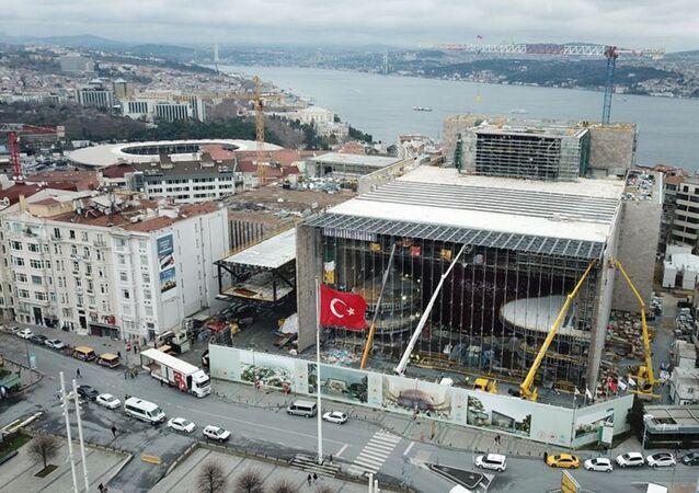 Atatürk Kültür Merkezi (AKM) inşaatı