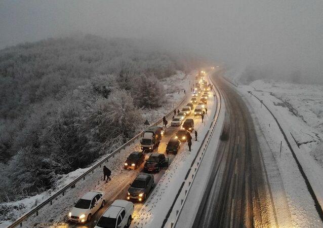 Kar-ulaşım-karayolu Zonguldak