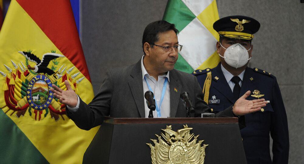 Bolivya Devlet Başkanı Luis Arce