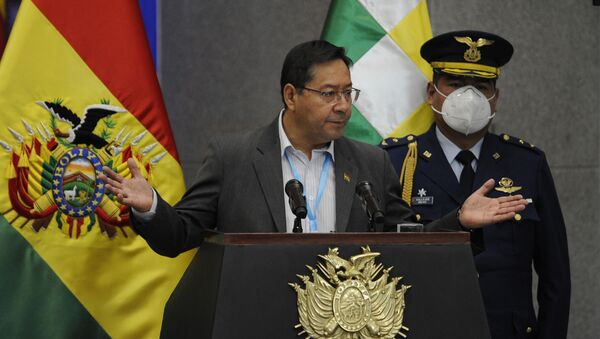 Bolivya Devlet Başkanı Luis Arce - Sputnik Türkiye