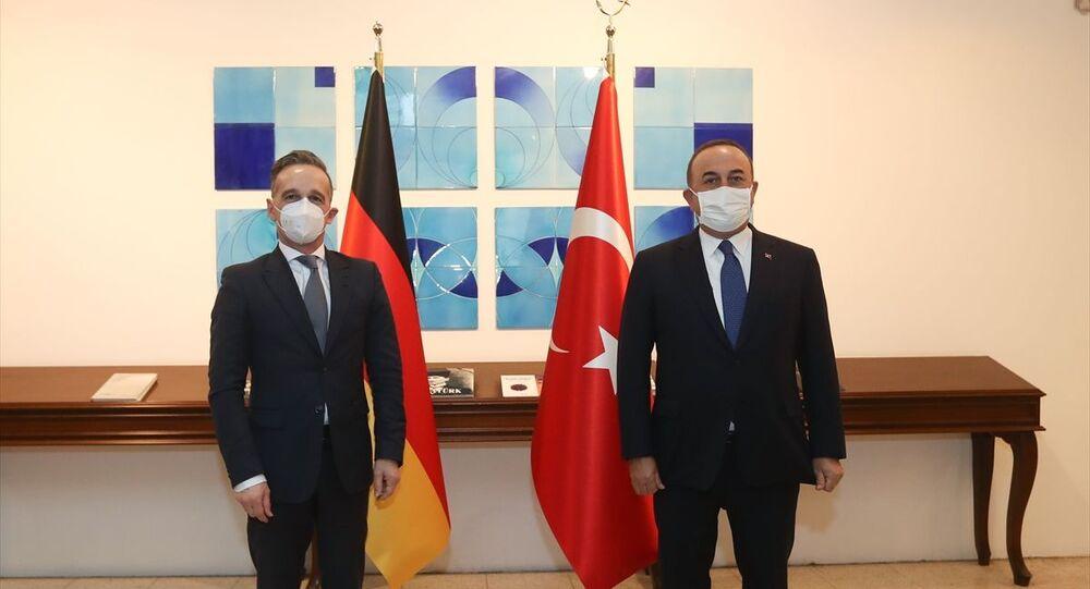 Heiko Maas, Mevlüt Çavuşoğlu