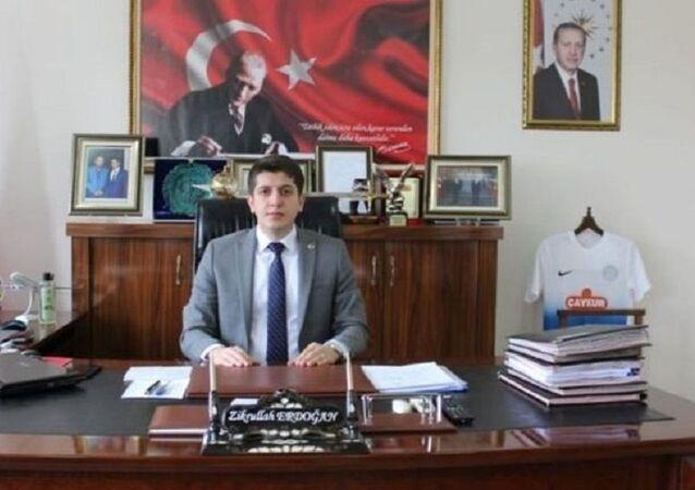 Uluborlu Kaymakamı Zikrullah Erdoğan