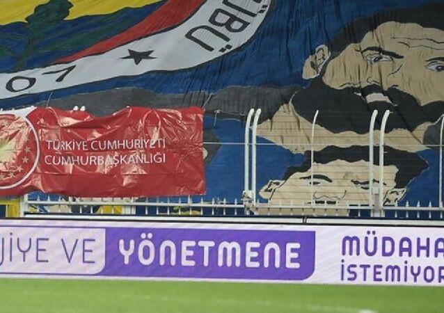 Fenerbahçe'den reklam panosu ile BeIN Sports'a tepki