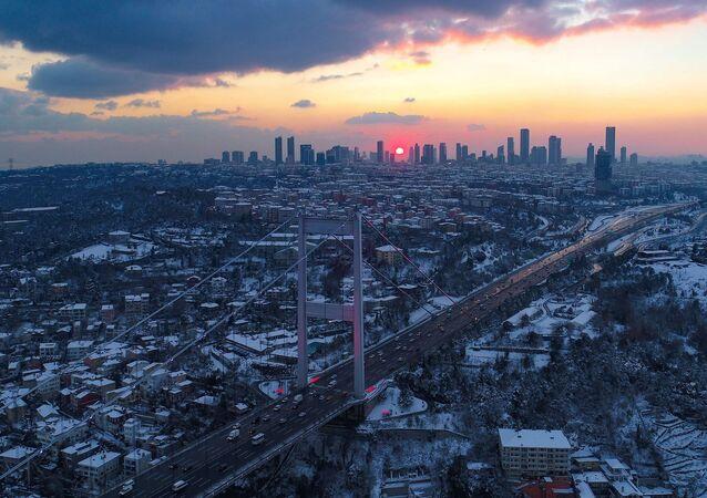 İstanbul - kar
