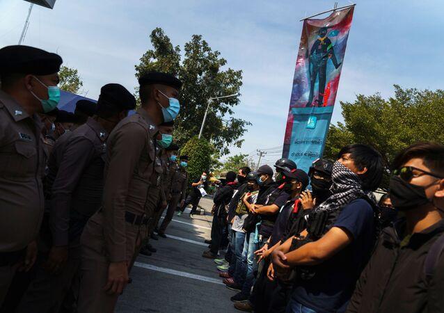 Tayland'daki protestolar