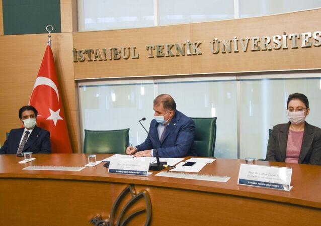 İstanbul Teknik Üniversitesi ile Katar Üniversitesi arasında mutabakat anlaşması imzalandı