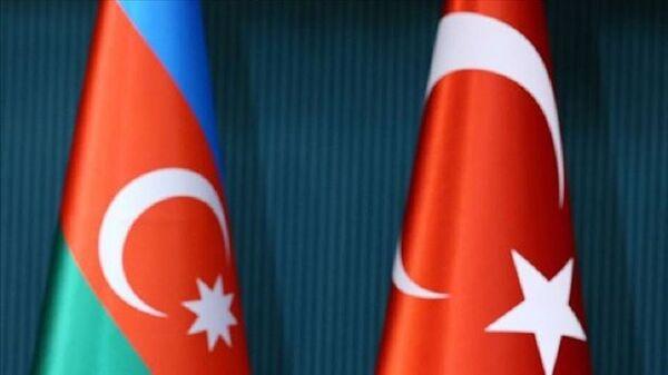 Azerbaycan, Türkiye, bayrak - Sputnik Türkiye