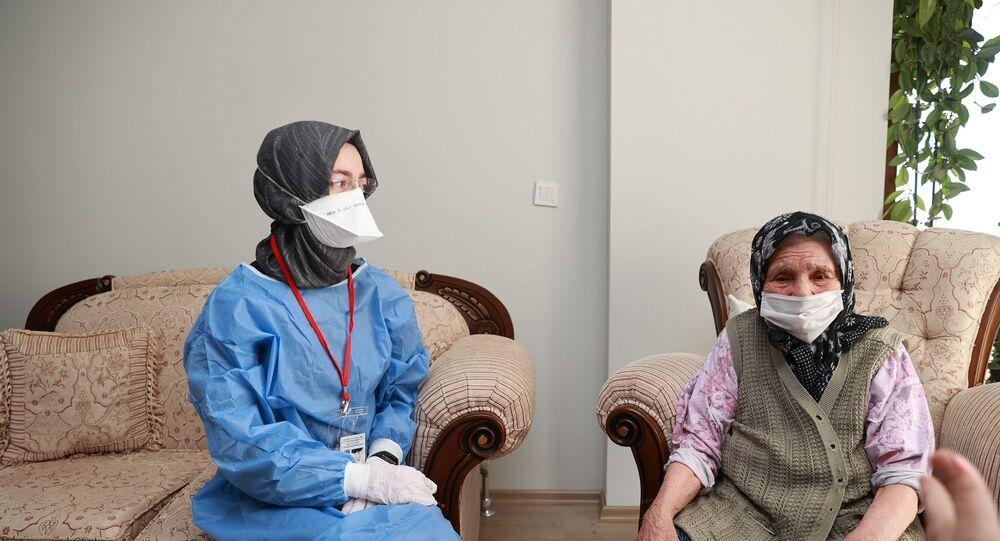 90 yaş ve üzeri vatandaşların aşılanması - koronavirüs aşısı