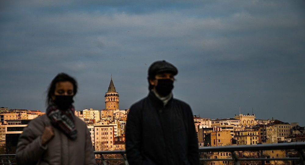 İstanbul, Galata Kulesi, koronavirüs
