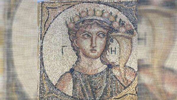 Roma dönemine ait 2 bin yıllık mozaik - Sputnik Türkiye