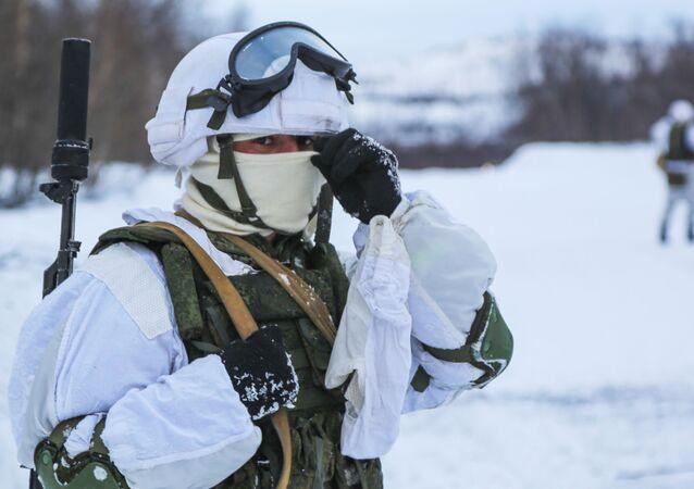 Rusya Kuzey Filosu, askeri tatbikat