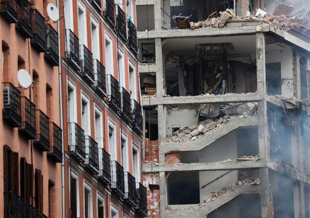 Madrid - patlama