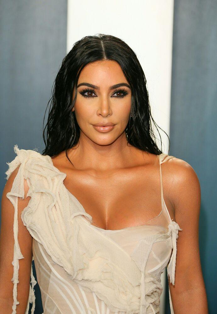 ABD'li TV yıldızı, oyuncu Kim Kardashian