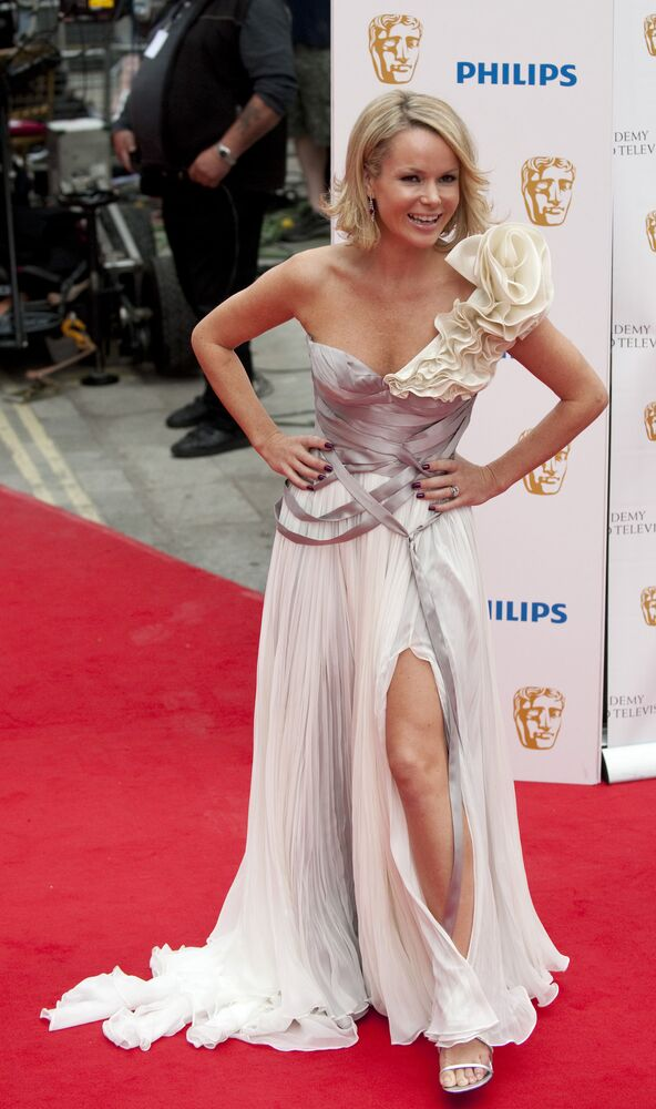 İngiliz oyuncu Amanda Holden