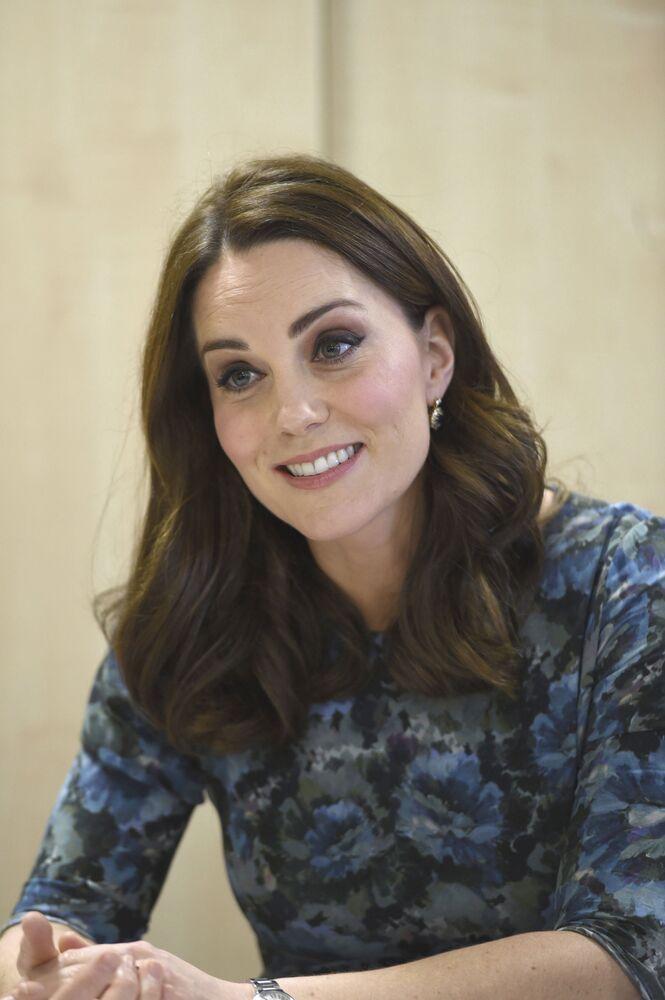 İngiltere tahtının 2. varisi Prens William'ın eşi Cambridge Düşesi Kate Middleton