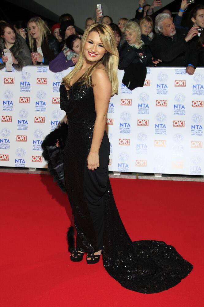 İngiliz oyuncu Billie Faiers