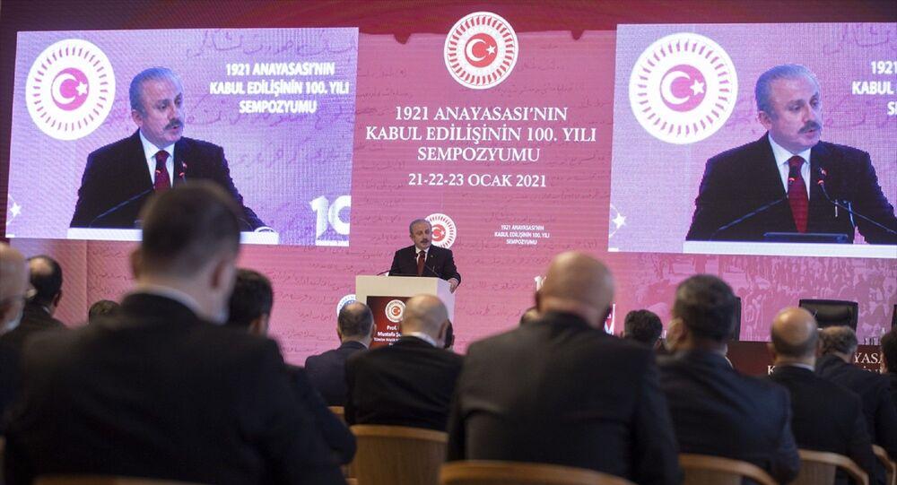 BMM Başkanı Mustafa Şentop