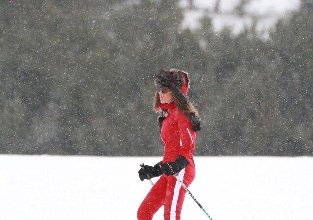 Seren Serengil, kayak tatili