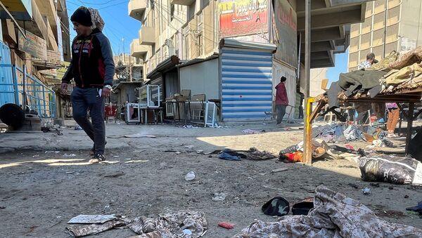 Irak - Bağdat - bombalı saldırı - Sputnik Türkiye