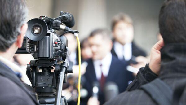 medya - gazeteci - kamera - Sputnik Türkiye