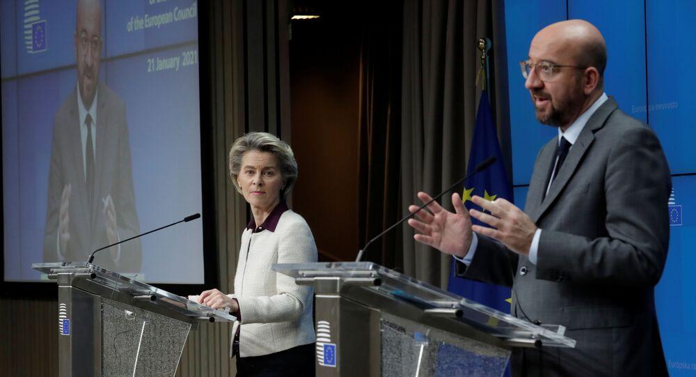AB Konseyi Başkanı Charles Michel, AB Komisyonu Başkanı Ursula von derLeyen