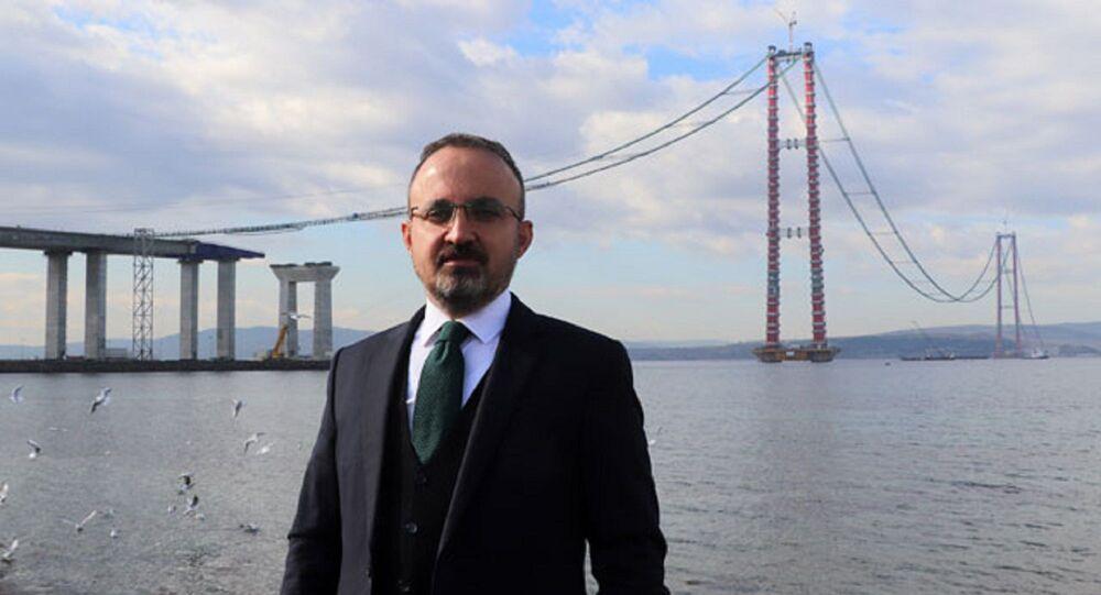 AK Parti Grup Başkanvekili ve Çanakkale Milletvekili Bülent Turan