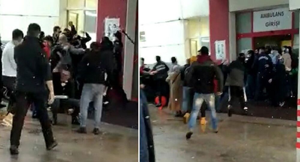 Güvenlik görevlilerinin saldırı