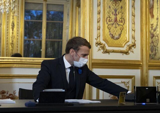 Macron telefon görüşmesi