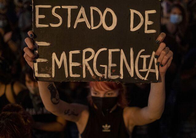 Porto Riko - kadına yönelik şiddet - protesto