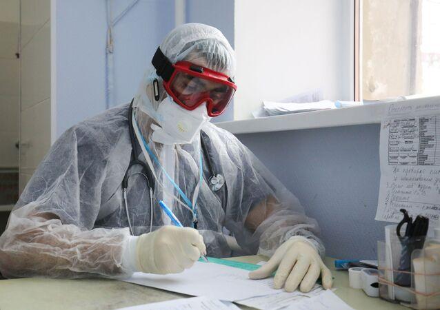 koronavirüs, hastane, Rusya