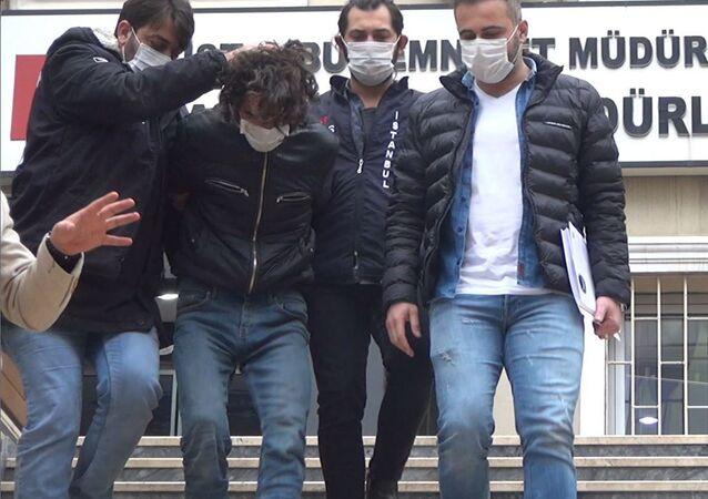 Rus turistleri bıçaklayan kişi - beşiktaş