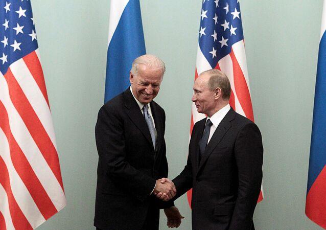 Rusya Devlet Başkanı Vladimir Putin ve ABD Başkanı Joe Biden