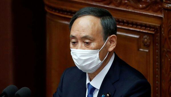 Japonya BaşbakanıSuga Yoşihide - Sputnik Türkiye