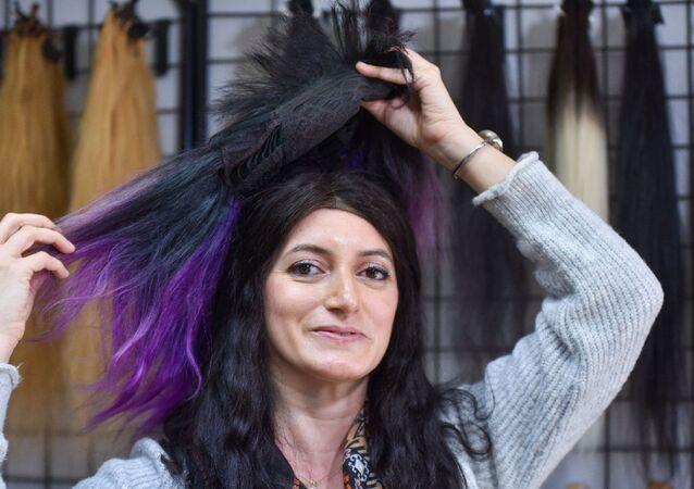 Kadın - saç - Türk saçı