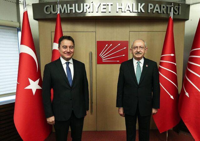 Ali Babacan - Kemal Kılıçdaroğlu -