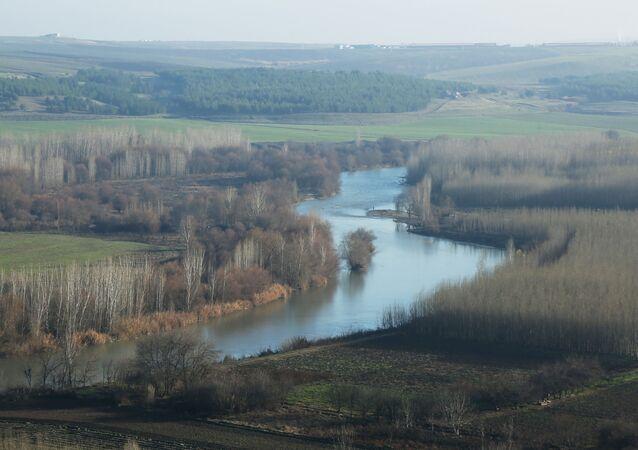 Dicle Nehri'nin 20 gün önceki hali