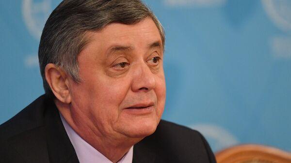 Vladimir Putin'in Afganistan Özel Temsilcisi ve Dışişleri Bakanlığı Asya İkinci Dairesi Başkanı Zamir Kabulov - Sputnik Türkiye