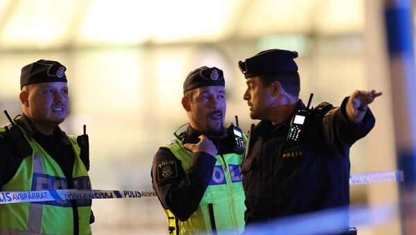 İsveç - polis - Sputnik Türkiye