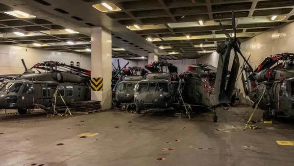 30 ABD saldırı helikopteri Dedeağaç'ta - Sputnik Türkiye