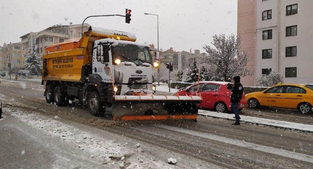 Ankara - Kar küreme