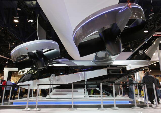 2020'de Las Vegas'ta görücüye çıkarılan hibrid elektrikli uçan taksi  Bell Nexus 4EX