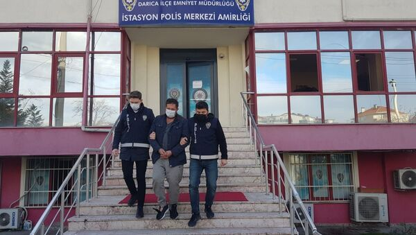 Kocaeli - polis - dolandırıcı - gözaltı - tutuklama - Sputnik Türkiye