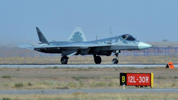 Su-57 - savaş uçağı - Sputnik Türkiye