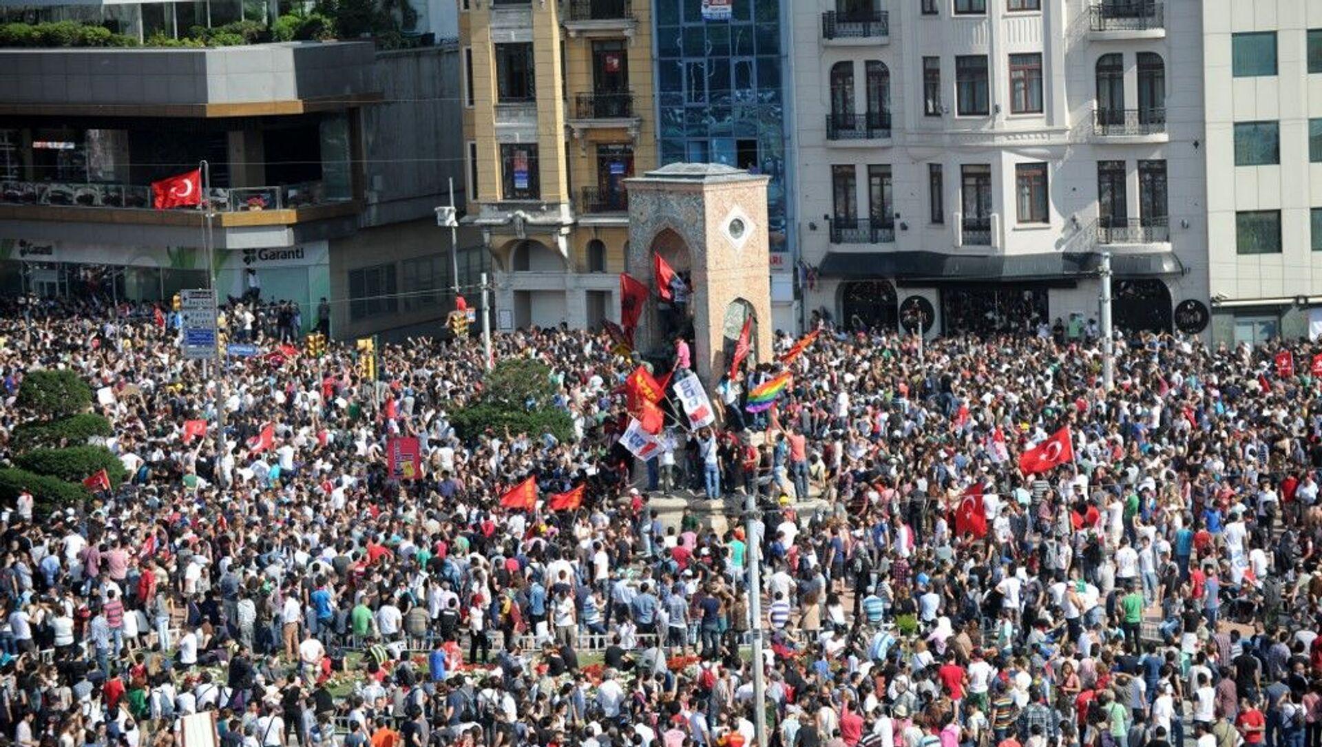 Gezi Parkı eylemleri - Sputnik Türkiye, 1920, 30.07.2021