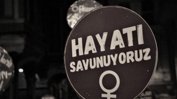 kadın cinayetleri, kadına şiddet - Sputnik Türkiye