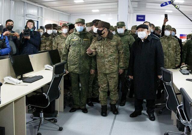Dağlık Karabağ'da sağlanan ateşkesi gözetlemek için Rusya ve Türkiye savunma bakanlarının 11 Kasım 2020'de imzaladığı mutabakat çerçevesinde kurulan Rus - Türk ateşkesi izleme merkezi 30 Ocak'ta faaliyete geçti.
