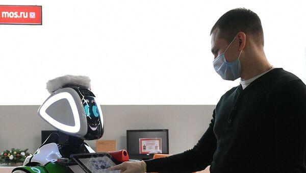 Temel sağlık göstergelerini ölçebilen robot - Sputnik Türkiye