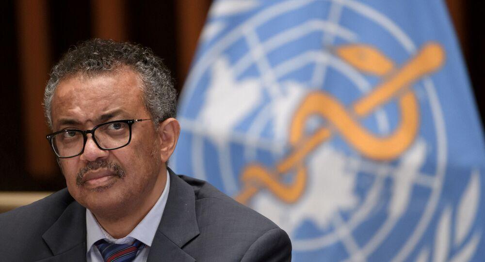 Dünya Sağlık Örgütünün (DSÖ) Genel Direktörü Dr. Tedros Adhanom Ghebreyesus